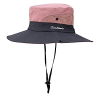 ihocon: Sowift Outdoor UV Protection Fishing Hat Foldable Mesh Wide Brim Summer Sun Hat  透氣遮陽帽