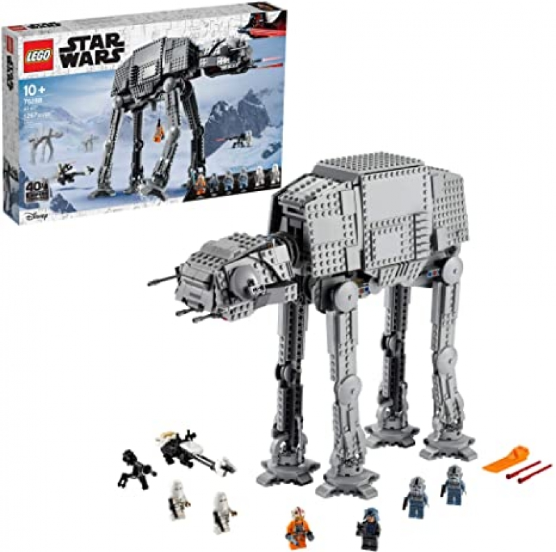 ihocon: 樂高星球大戰積木 LEGO Star Wars at-at 75288 Building Kit(1,267 Pieces)