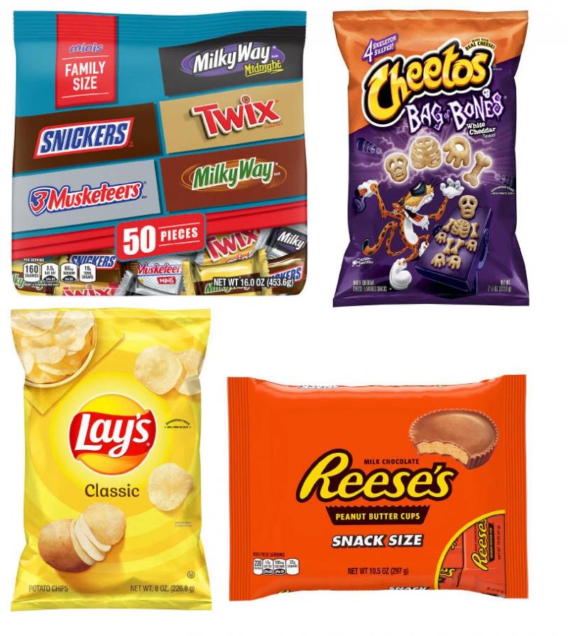 ihocon: Halloween Candy & Treats 萬聖節糖果, 薯片, 點心