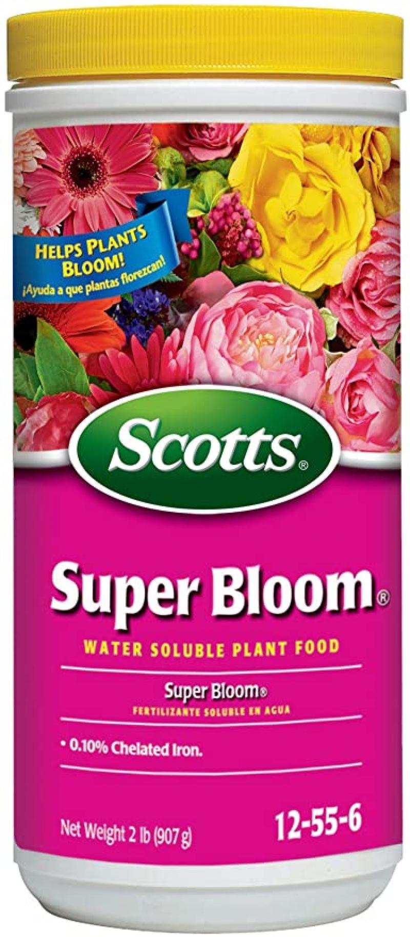 ihocon: Scotts Super Bloom Water Soluble Plant Food, 2 lb - NPK 12-55-6 水溶性花肥