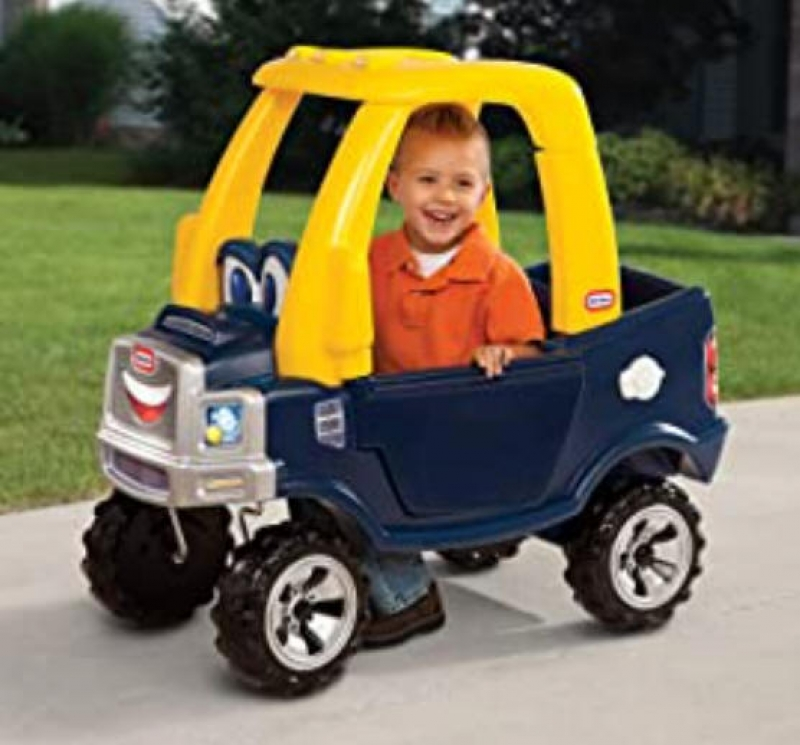 ihocon: Little Tikes Cozy Truck Ride-On with removable floorboard 兒童腳行車