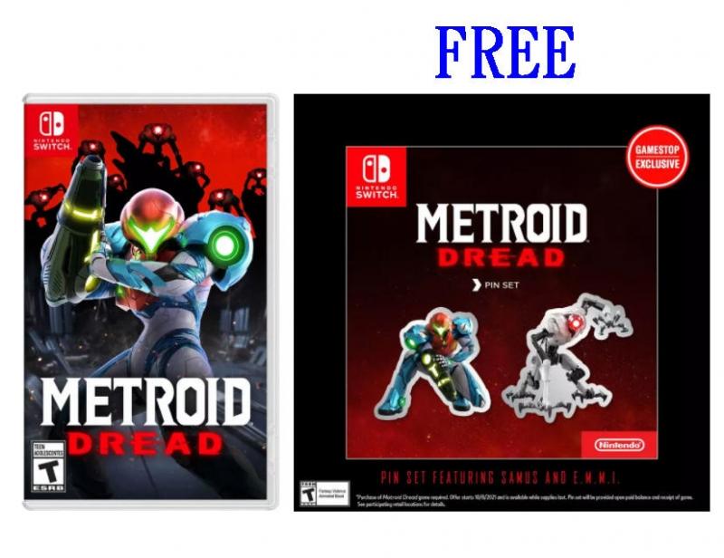 ihocon: 預購 Nintendo Switch 遊戲 - Metroid Dread