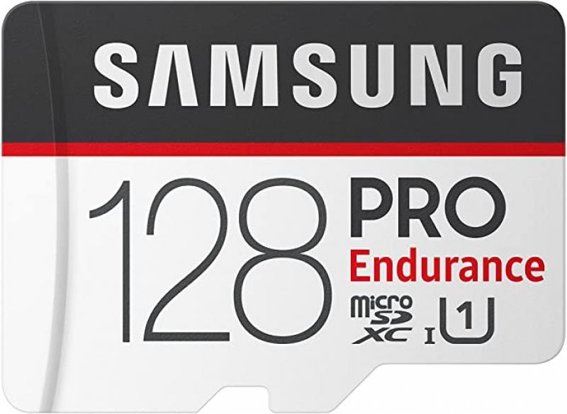 ihocon: Samsung PRO Endurance 128GB 100MB/s (U1) MicroSDXC Memory Card with Adapter 記憶卡(含SD轉換卡)