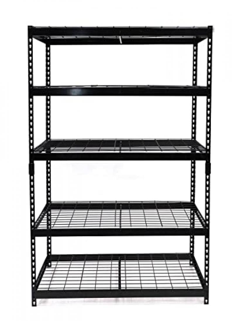 ihocon: Juggernaut Storage 48W x 24D x 72H Five-Shelf Steel Shelving Unit, 2500 lb Capacity 五層金屬置物架