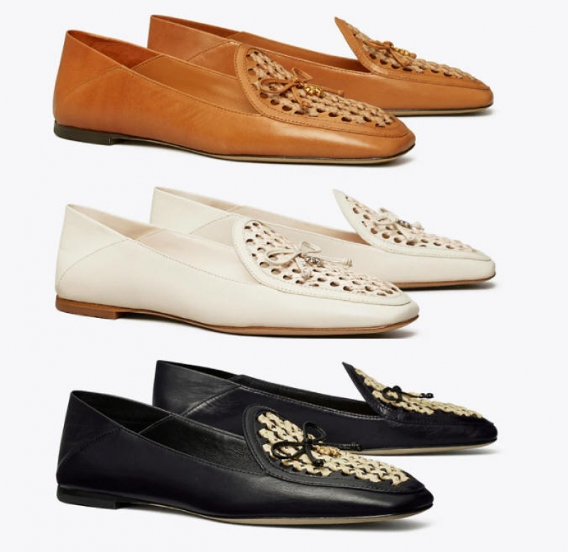 ihocon: Tory Charm Woven Loafer 女鞋-多色可選