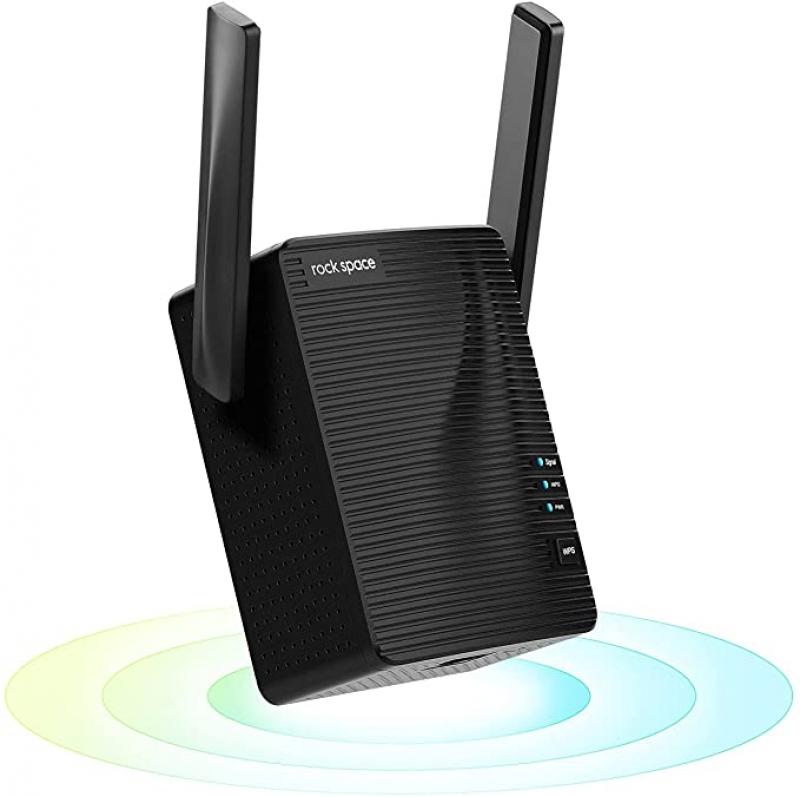 ihocon: rockspace WiFi Extender - Dual-Band WiFi Range Extender with Ethernet Port無線網路訊號增強器