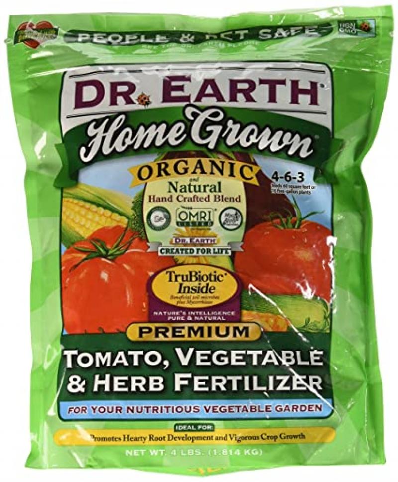 ihocon: Dr. Earth Organic 5 Tomato, Vegetable & Herb Fertilizer Poly Bag 有機番茄、蔬菜和香料肥料 4磅