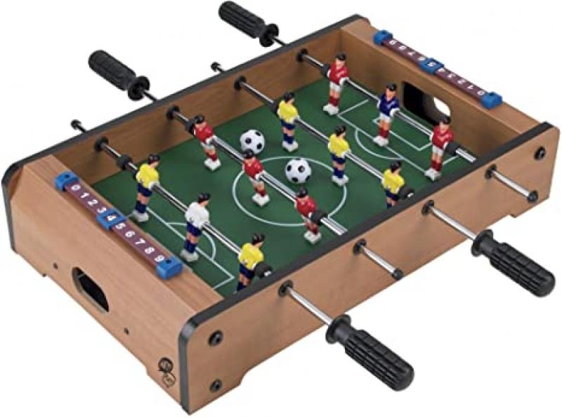 ihocon: Hey! Play! Tabletop Foosball Table 便攜迷你手足球台/桌上型足球台
