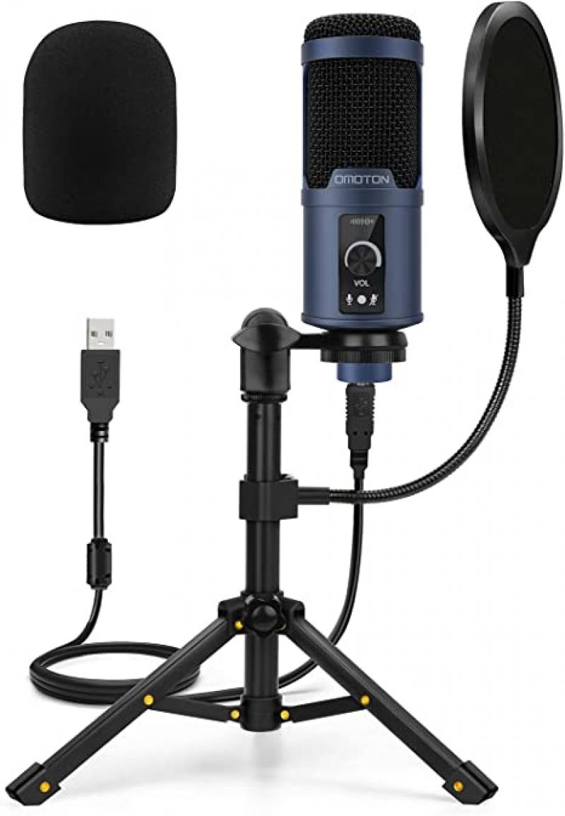 ihocon: OMOTON USB Microphone for Computer 麥克風