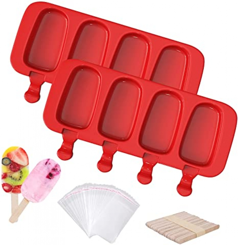 ihocon: Ouddy Large Silicone Popsicle Molds, 2 Pcs 矽膠冰棒模 2個