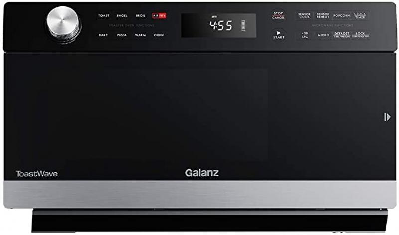ihocon: Galanz GTWHG12S1SA10 Air Fryer 桌上型氣炸烤箱, 1000W/1.2 Cu.Ft
