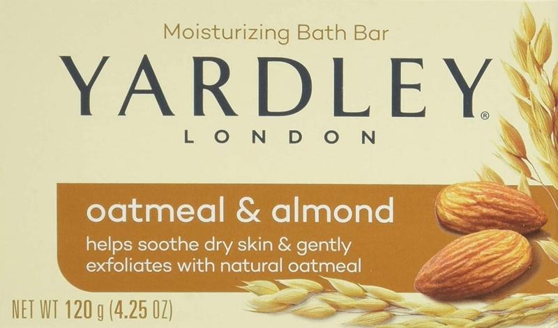 ihocon: Yardley Oatmeal and Almond Bar Soap, Oatmeal & Almond, 4.25 Ounce  燕麥杏仁香皂