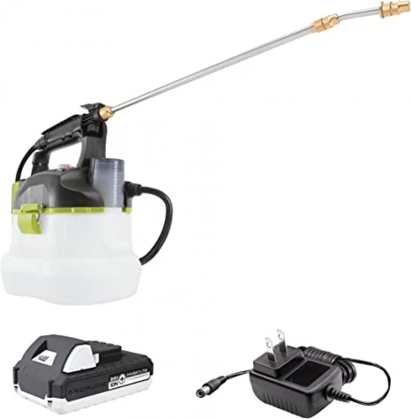 ihocon: Sun Joe 24V-GS-LTW 24-Volt Amp 1-Gallon  無線電動噴霧器, 含電池及充電器