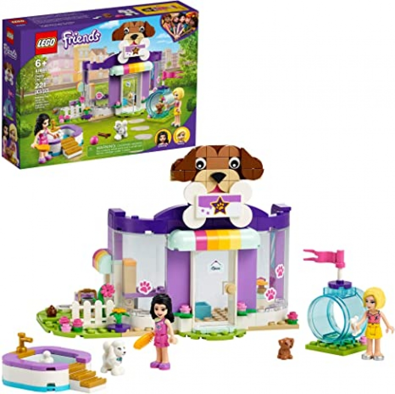 ihocon: [2021新款] 樂高積木 LEGO Friends Doggy Day Care 41691 Building Kit, New 2021 (221 Pieces)