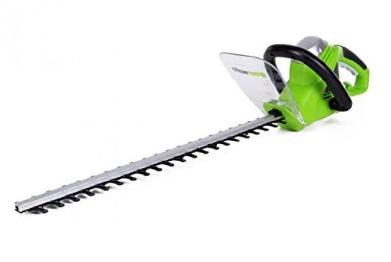 ihocon: Greenworks 2200102 4-Amp 22-Inch Corded Hedge Trimmer 電動修樹籬機(有線)