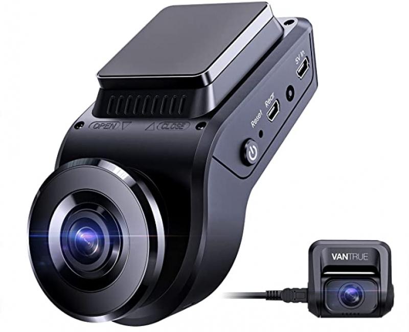 ihocon: Vantrue S1 4k Dash Cam, Dual 1080P Front and Rear Car Camera with Built in GPS, Parking Monitor雙鏡頭行車記錄儀