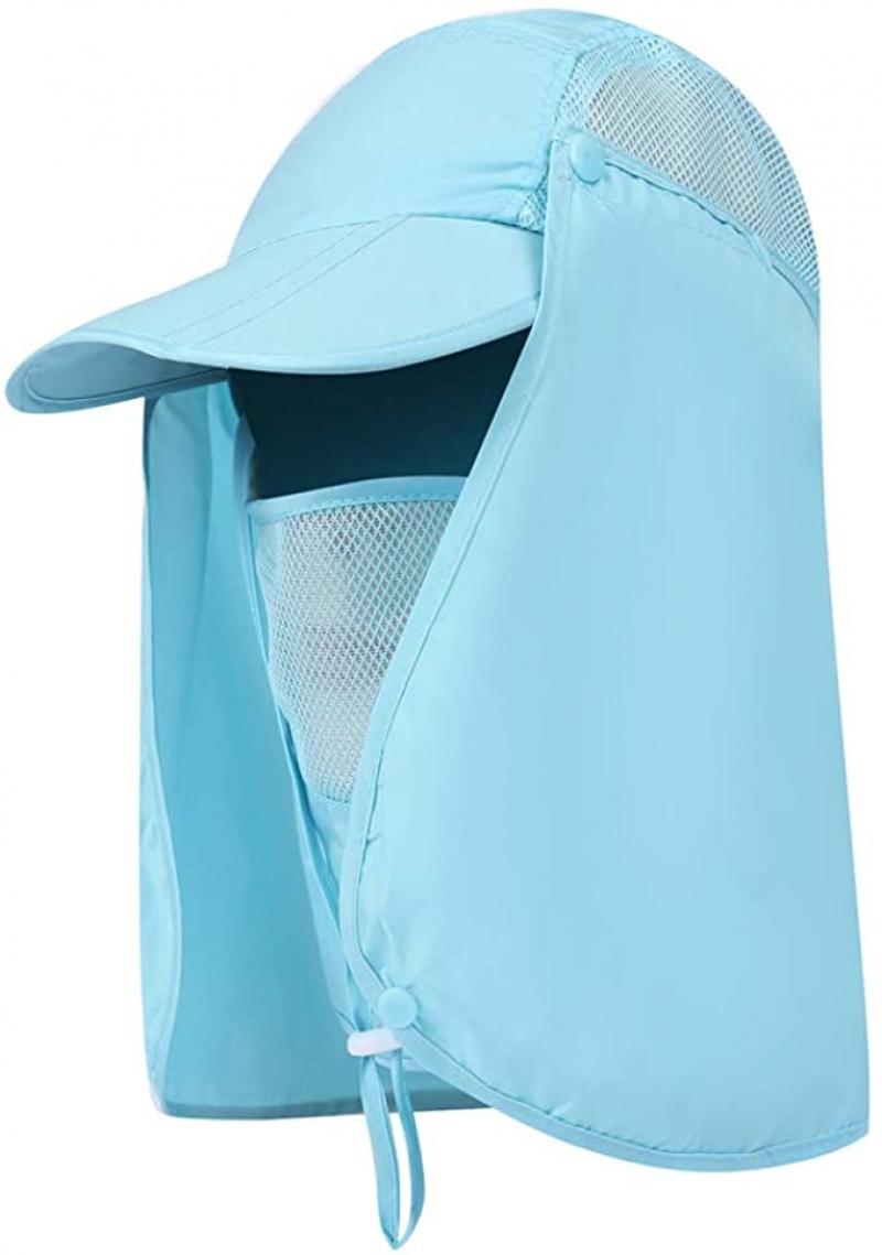 ihocon: Aokelily Sun Hats Outdoor UPF 50+ Sun Caps速乾遮陽帽
