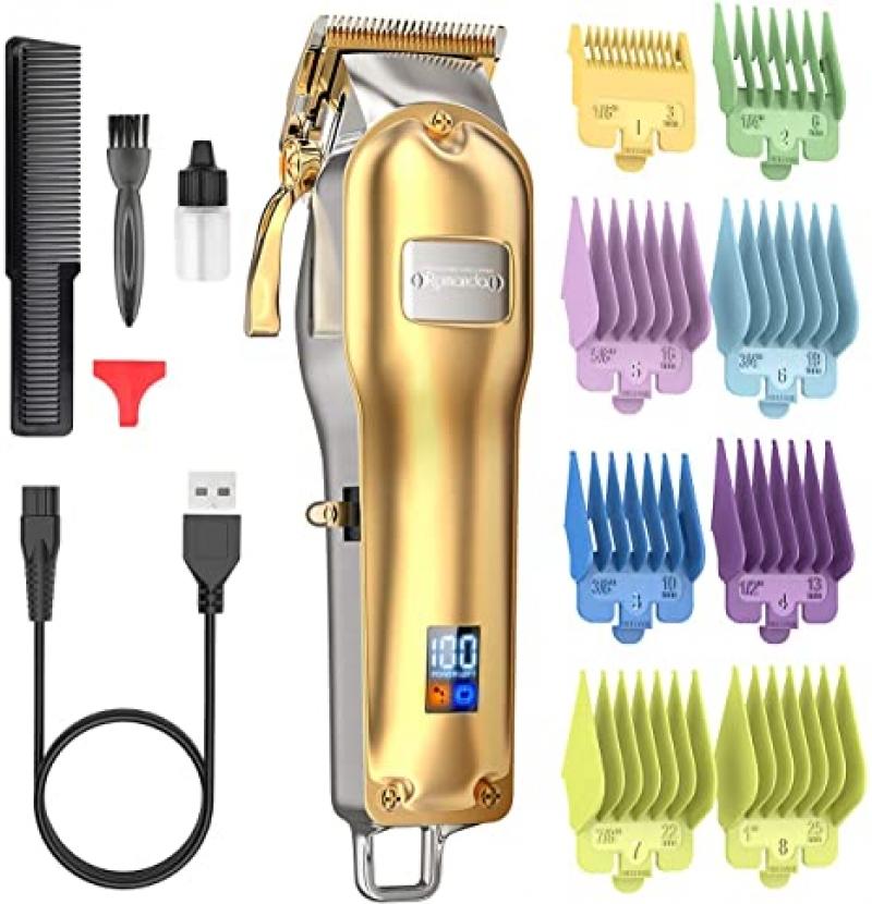 ihocon: Romanda Cordless Rechargeable Electric Hair Cutting Kit 無線電動理髮器