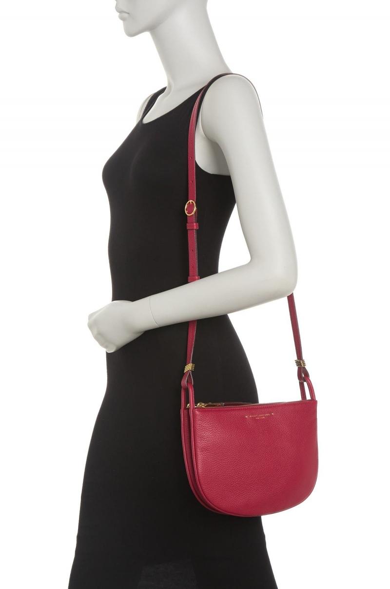 ihocon: MARC JACOBS Supple Leather Crossbody Bag 真皮斜背包