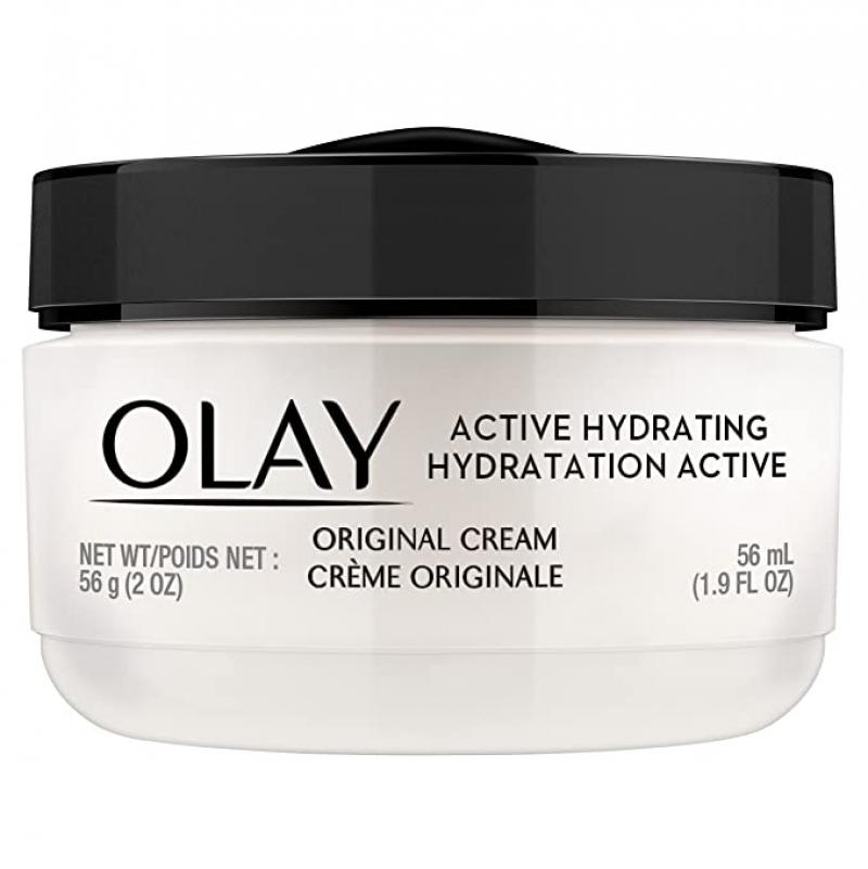 ihocon: Olay Active Hydrating Cream Face Moisturizer, 1.9 fl oz 保濕霜