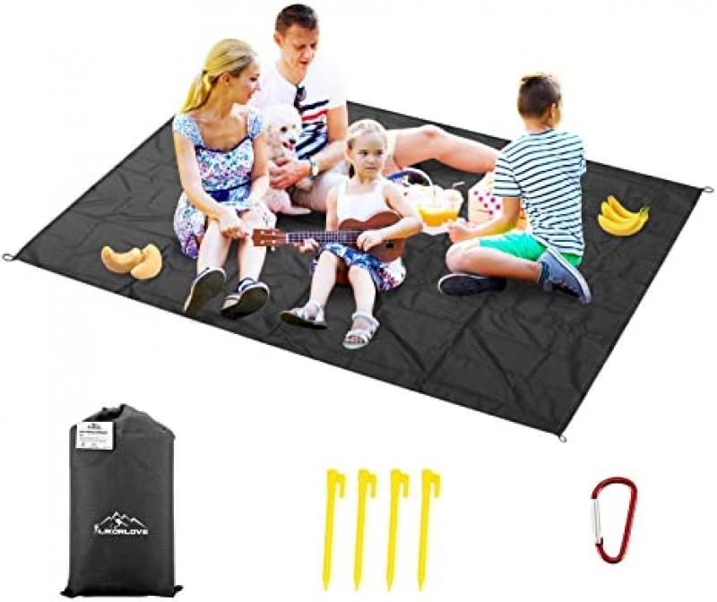 ihocon: Likorlove Outdoor Picnic Waterproof Blanket X-Large(94x79) 野餐防水地墊