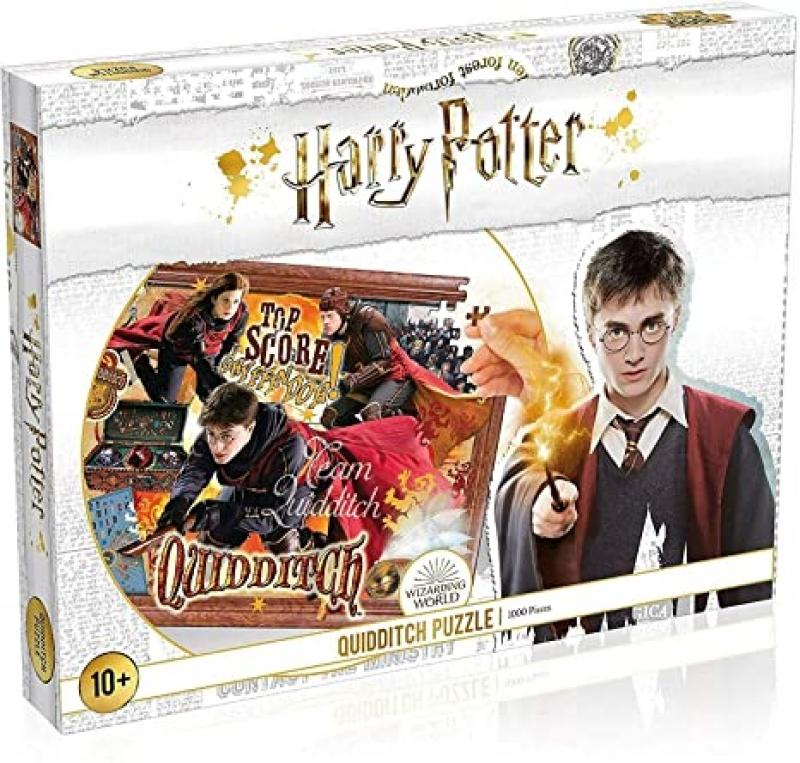 ihocon: Harry Potter Quidditch 1000 Pc Jigsaw Puzzle 哈利波特1000片拼圖
