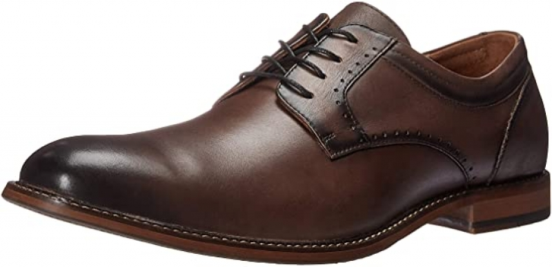 ihocon: STACY ADAMS Men's Faulkner Plain Toe Oxford 真皮男鞋