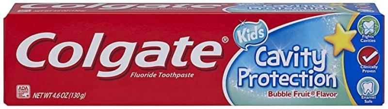 ihocon: Colgate Kids Cavity Protection Toothpaste, Bubble Flavor, 4.6 Ounce  兒童防蛀齒牙膏