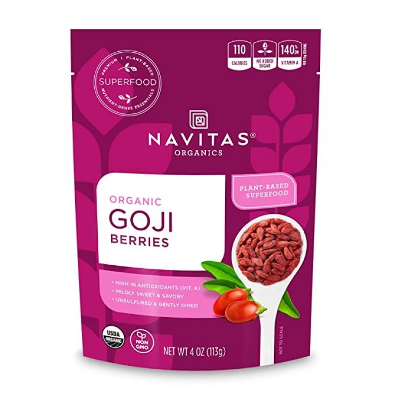 Navitas 有機枸杞 4 oz $4.54(原價$6.99)