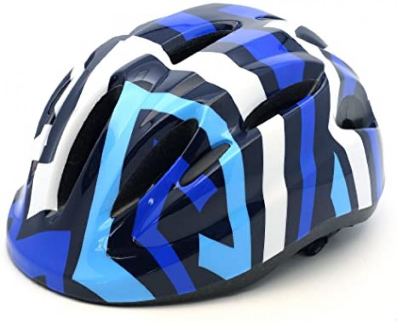 ihocon: M Merkapa Kids Bike Helmet Adjustable 3D Shark Bicycle Helmets for Toddler and Youth   兒童自行車頭盔