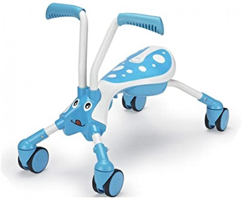 ihocon: Mookie Scramblebug 4-Wheel Foldable Foot-to-Floor Ride-On 可折疊收納, 兒童四輪腳行車