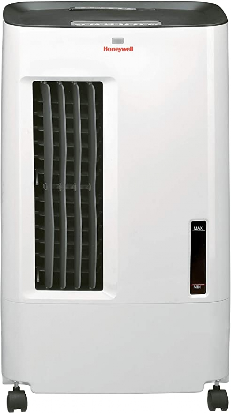 ihocon: Honeywell CS071AE Quiet, Low Energy, Compact Portable Evaporative Cooler with Fan & Humidifier, Carbon Dust Filter & Remote Contro水冷扇