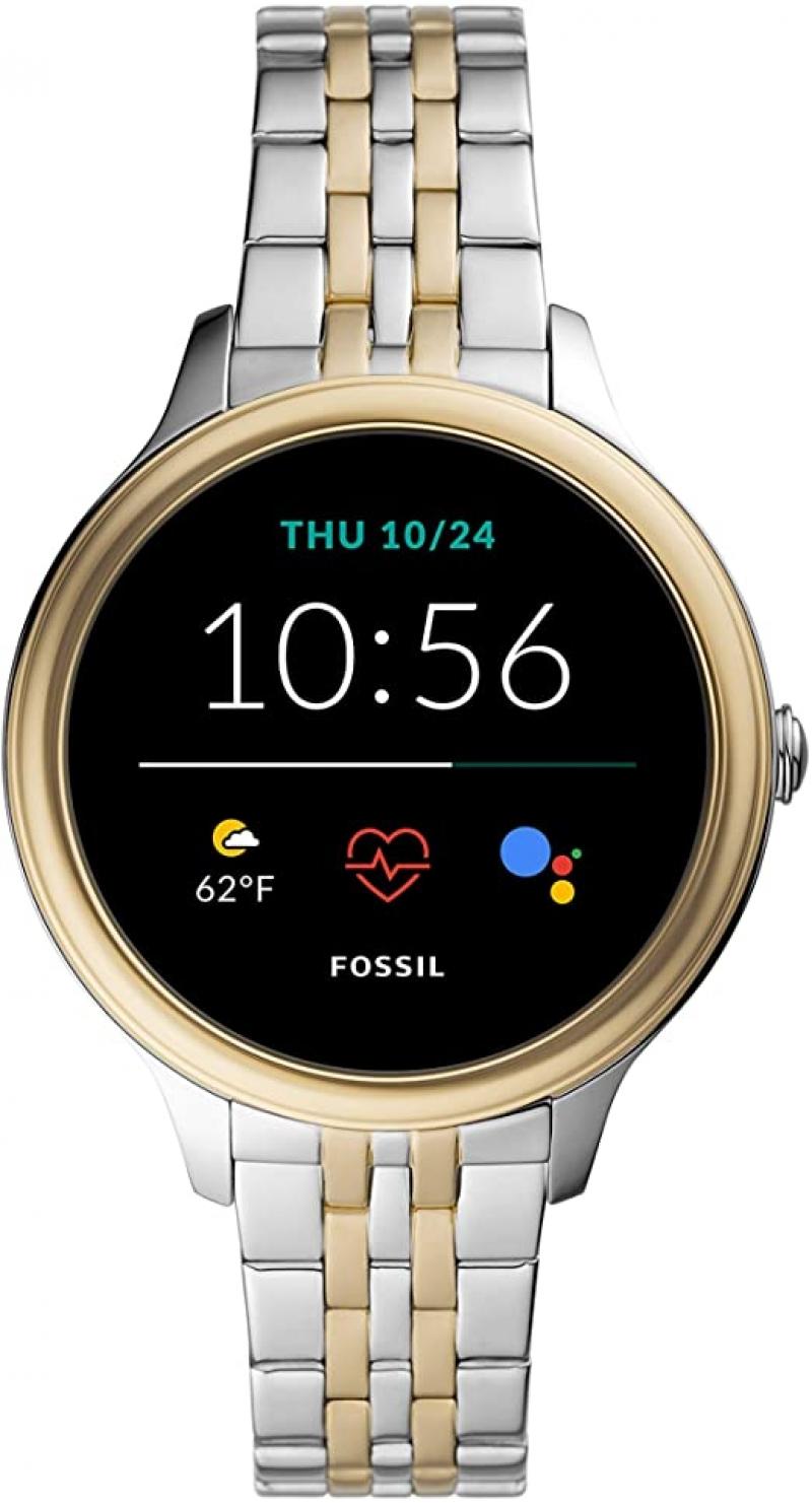 ihocon: Fossil Women's Gen 5E 42mm Stainless Steel Touchscreen Smartwatch 女士智能錶
