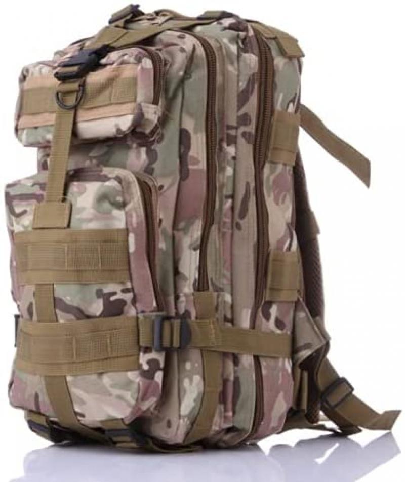 ihocon: Birgus Lightweight Waterproof Military Tactical 35L Hiking Backpack防水輕型背包