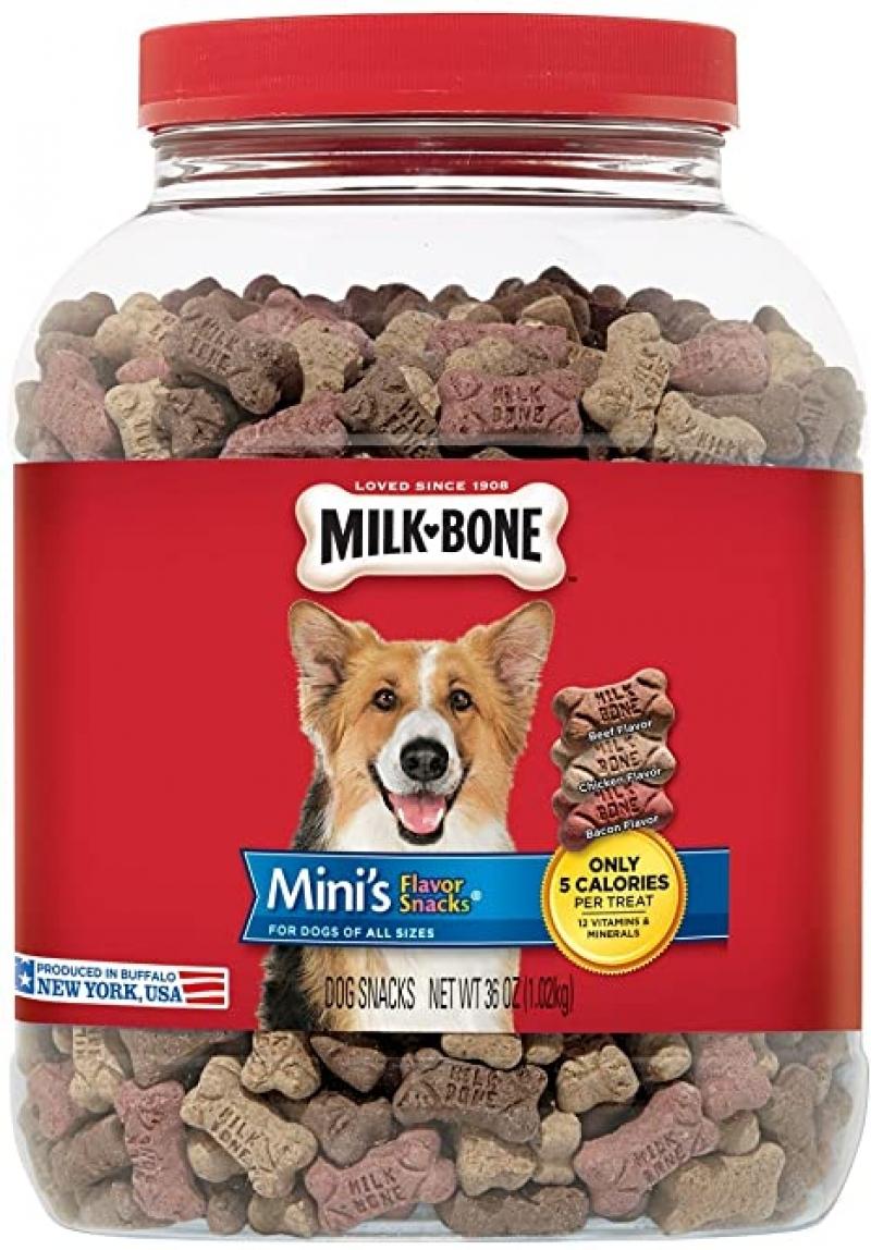 ihocon: Milk-Bone Flavor Snacks Dog Treats for Dogs狗狗零食