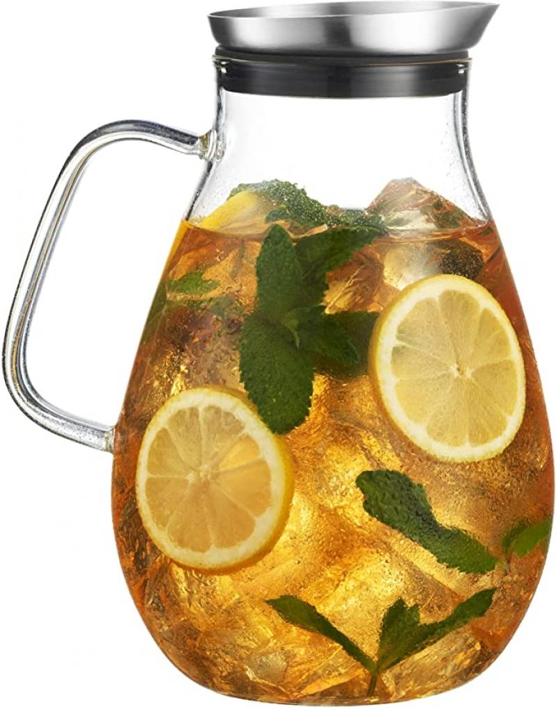 ihocon: MITBAK 60 oz Glass Pitcher 玻璃水瓶