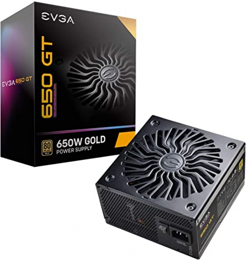 ihocon: Evga Supernova 650 GT 80 Plus Gold 650W Fully Modular Auto Eco Mode Power Supply with FDB Fan 電源供應器(含風扇)