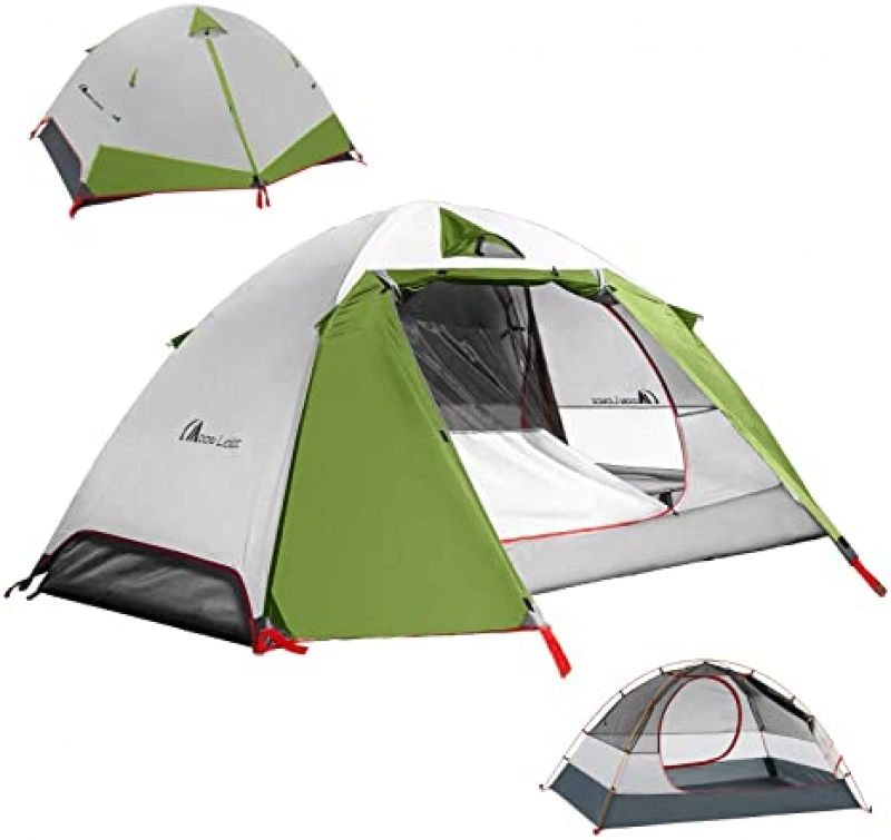 ihocon: MOON LENCE Camping Tent 1 and 2 Person Backpacking Tent 1-2人帳篷