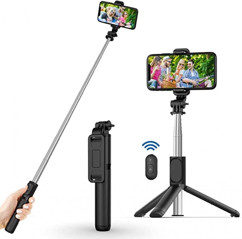 ihocon: USTINE Selfie Stick 自拍杆(可站, 含無線遙控)