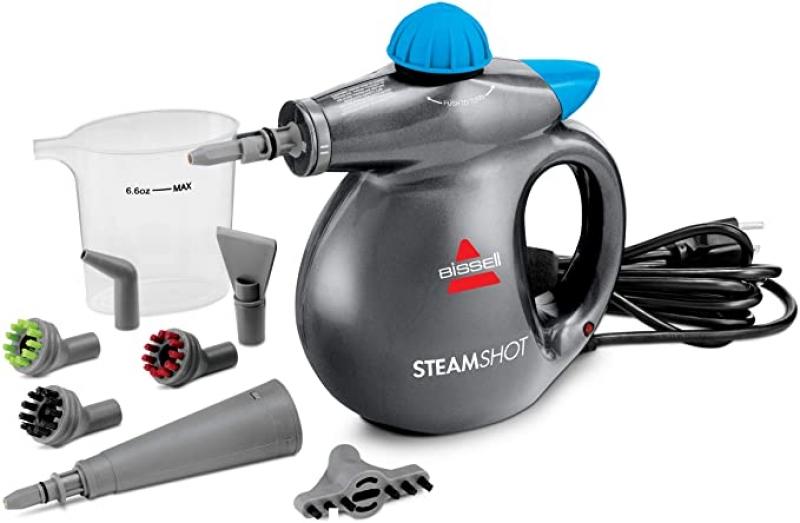 ihocon: BISSELL SteamShot Hard Surface Steam Cleaner  手持蒸汽清潔 / 消毒機