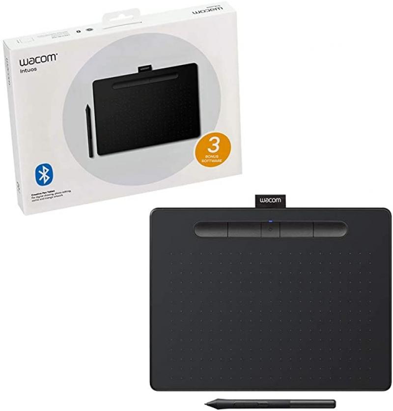 ihocon: Wacom Intuos Wireless Graphics Drawing Tablet 無線繪圖板