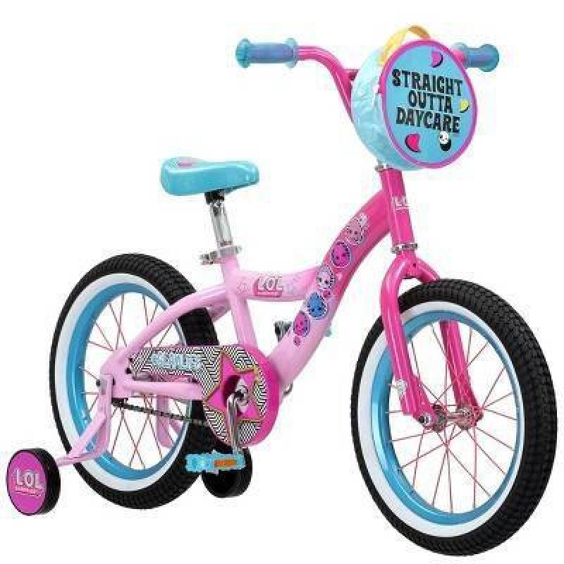ihocon: L.O.L. Surprise! 16 Kids' Bike 兒童自行車 (可拆輔助輪)