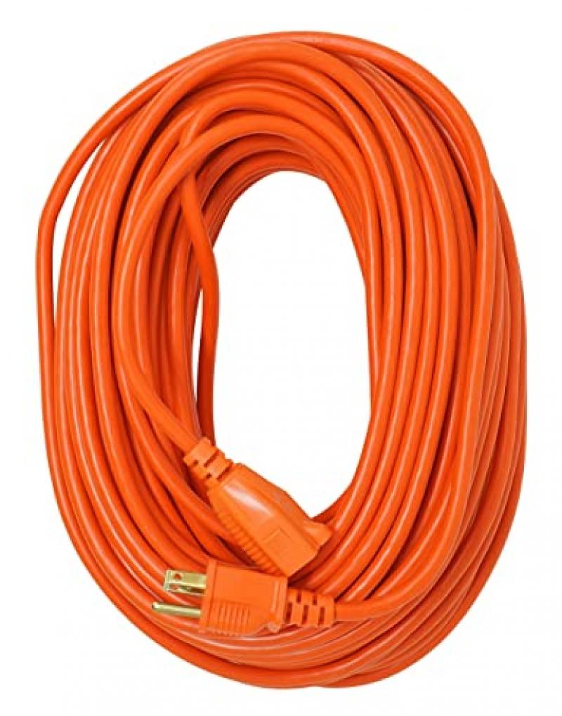 ihocon: Southwire 16/3 Vinyl Outdoor Extension Cord, 3- Pronged, 100-Foot 戶外延長線