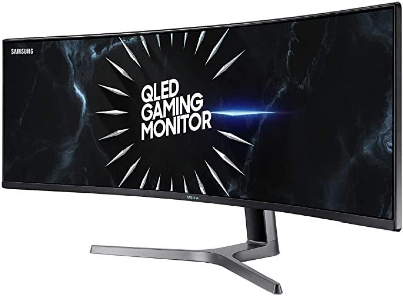ihocon: SAMSUNG LC49RG90SSNXZA 49-Inch CRG9 Curved Gaming Monitor, Black, QHD, 120Hz曲面遊戲顯示器