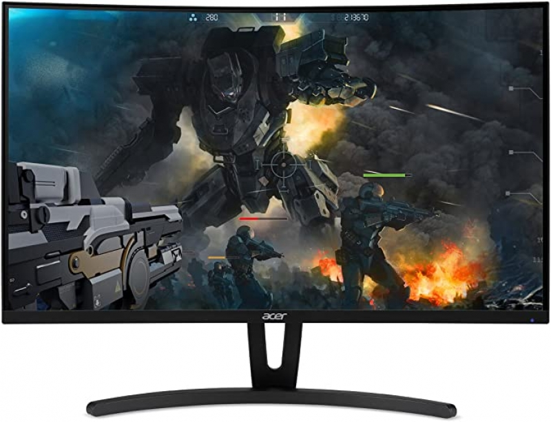"""ihocon: Acer Gaming Monitor 27"""" Curved ED273 Abidpx 1920 x 1080 144Hz Refresh Rate G-SYNC Compatible (Display Port, HDMI & DVI Ports) 曲面遊戲顯示器"""