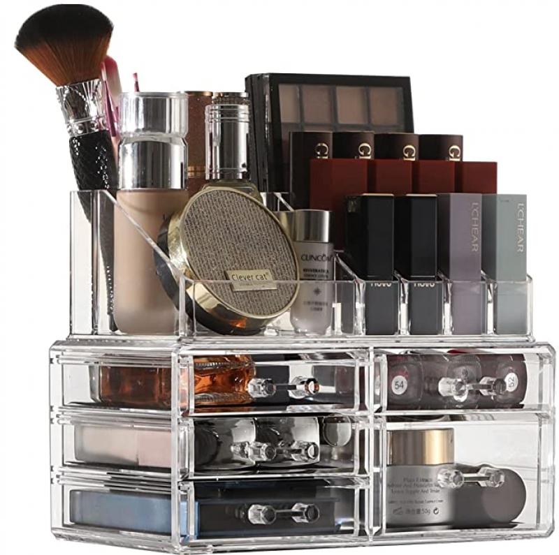 ihocon: Cq acrylic Makeup Organizer 化妝品收納架