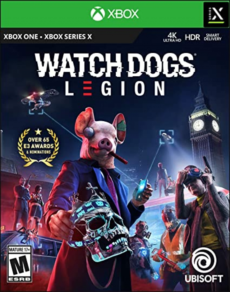 ihocon: Xbox One 遊戲 - Watch Dogs Legion (Standard Edition)