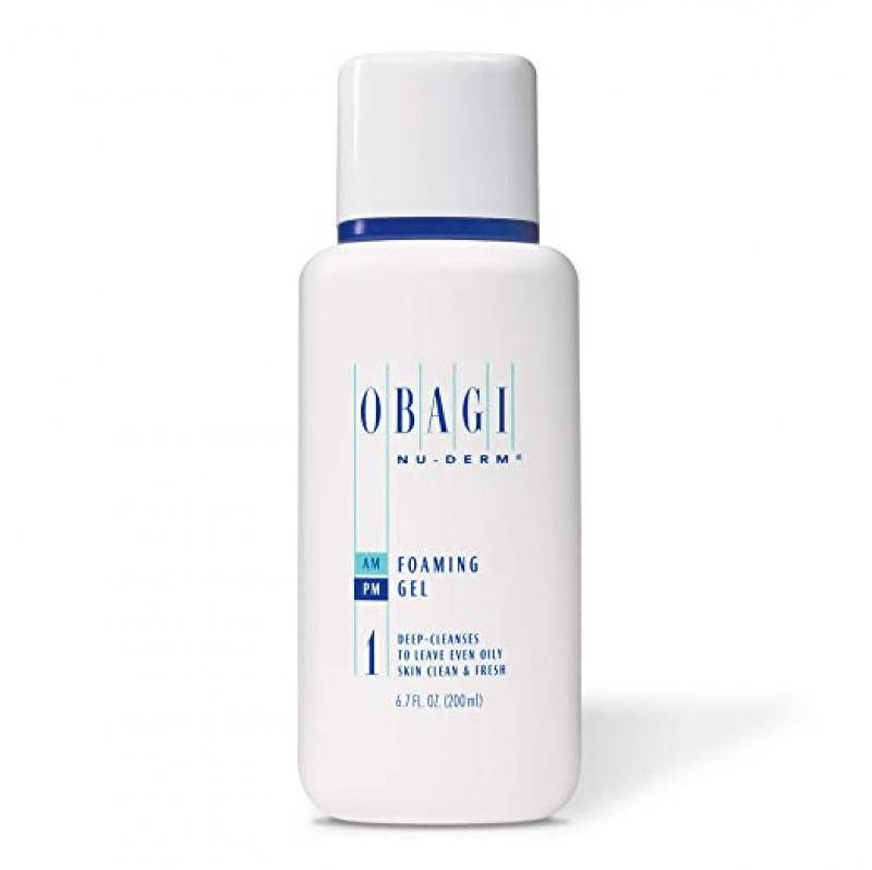 ihocon: Obagi Medical Nu-Derm Foaming Gel Cleanser with Aloe Vera 6.7 Fl Oz (200mL)泡沫洗面乳