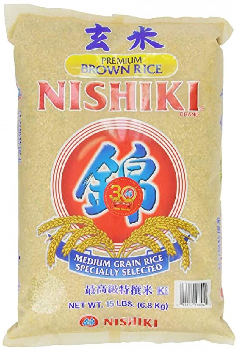 ihocon: Nishiki Premium Brown Rice 糙米15磅