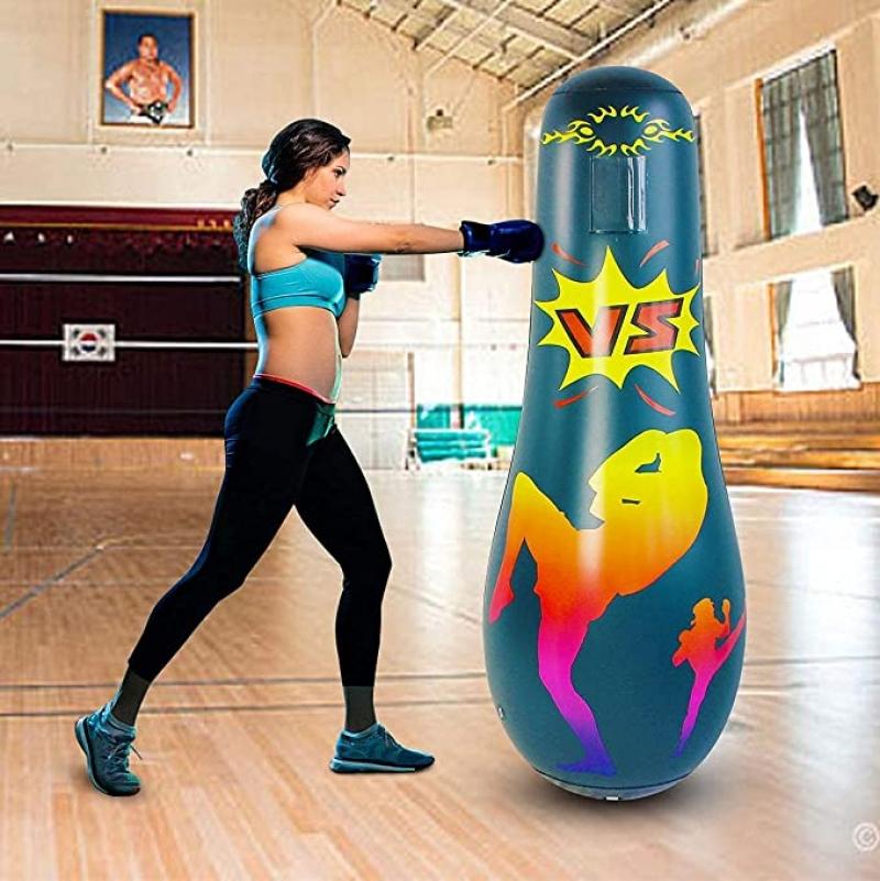 ihocon: SUNSHINE-MALL Inflatable Immediate Bounce Back Heavy Punching Bag 充氣拳擊袋
